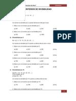 Criterios de Divisibilidad III