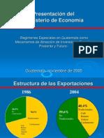 regímenes especiales en guatemala