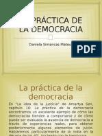 LA PRÁCTICA DE LA DEMOCRACIA