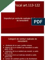 Slide- Impozit Nerezidenti