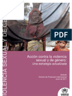 Acción contra la violencia de género