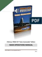 FS2Crew2010 PMDG 747 Main Ops Manual