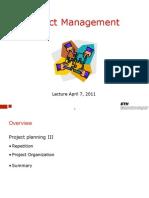 PM Lecture 6