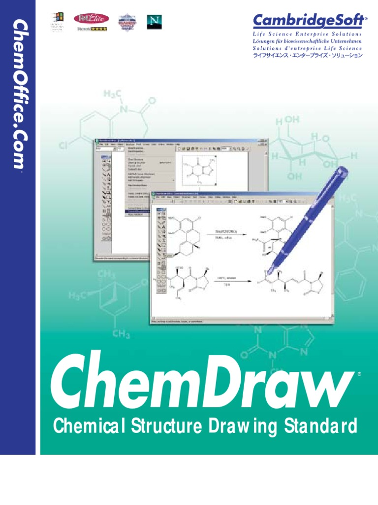 Chemdraw 8 English | License | Proprietary Software