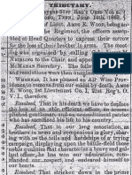 Amos Eastman Wood Family Related Newspaper Clippings