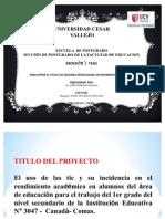 Exposicion de Proyecto 2012