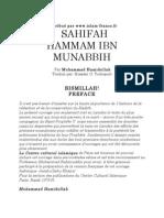 Sahifah Hammam Ibn Munabbih