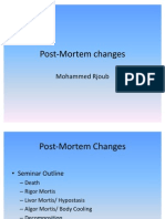 1 -1 Post-Mortem Changes Part1