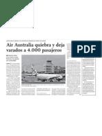 Aerolínea, Finanzas y Turismo