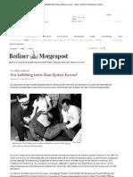 Fall Benno Ohnesorg - Wie kaltblütig tötete Stasi-Spitzel Kurras