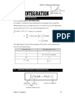 Chapter 9 - Integration