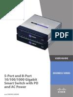 Cisco Slm2008 v10 Ug a-web
