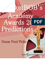 MarketBob Academy Awards 2012 Predictions