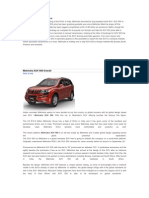 Mahindra XUV 500 Review