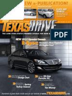 Texas Drive Magazine - February-March 2012
