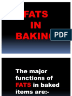 Fats in Baking