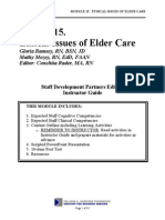 Module Ethical Issues of Elder Care