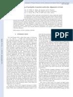 V. Loriot et al- Snapshot imaging of postpulse transient molecular alignment revivals