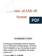 Overview of AXE-10