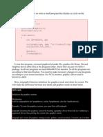 To Start Programming