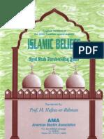 Islamic Beliefs by Hazrat Allama Sayyed Shah Turab-Ul-Haq Qadiri(Maddazillahul Aali)