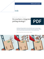 McKinsey - Long Term Pricing Strategy - October 2010