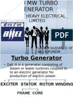 500 Mw Turbo Generator