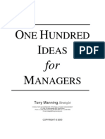 100 Ideas for Managers