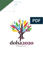 Doha 2020 Application File - ملف تقديم الدوحة 2020