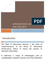 Information Assurance and Security