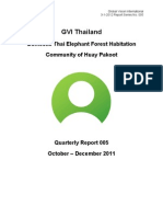 GVI Thai Elephants Q Report 114