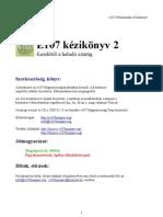 e107 Felhasznaloi Kezikonyv v2.0