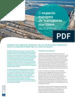 El espacio Europeo de transporte marítimo sin barreras