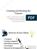 Creating and Starting the Venture