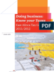 East African Tax Guide 2011 2012