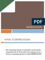 Depreciation Presentation