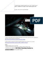Oil Pump Gasket and Freeze Plugs