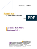Synthese Rapport que Filiere Electronucleaire