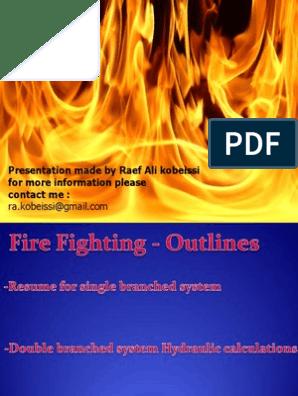 Firefighting Hydraulic Calculation | Fire Sprinkler System