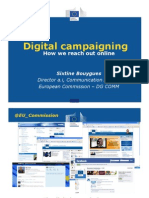 Digital campaigning - How we reach out online