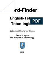Tetum Portuguese Indonesian English Dictionary 4a09f128e1