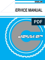 Daystar Service Manual