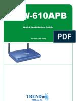 TRENDnet TEW-610APB