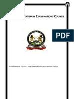 Kcpe Reg Manual 2012