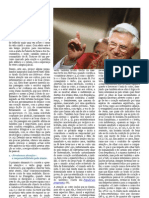 Mensagem de Bento XVI Quaresma 2012