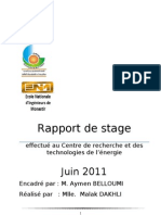 Rapport de Stage Tech No Pole