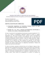 Rezolvare Societati Comerciale Speta Serie.clear
