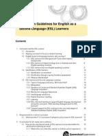 Guidelines Esl