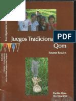 Juegos Tradicionales - Qom - Susana Kovács - Pueblo Qom Recreación - Paraguay - PortalGuarani