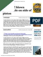 Print - 700 MXZ Blown Piston - DOOTalk Forums